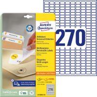 Avery Zweckform L4730REV-25 öntapadós etikett címke