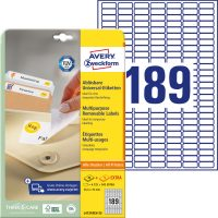 Avery Zweckform L4731REV-25 öntapadó etikett címke