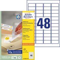 Avery Zweckform L4736REV-100 öntapadó etikett címke
