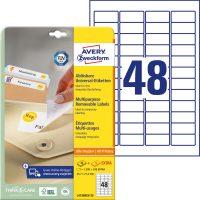 Avery Zweckform L4736REV-25 öntapadó etikett címke