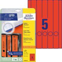 Avery Zweckform L4748-20 iratrendező címke
