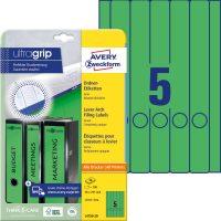 Avery Zweckform L4750-20 iratrendező címke