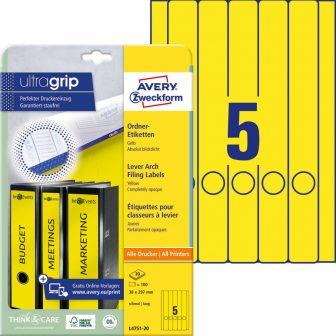 Avery Zweckform L4751-20 iratrendező címke