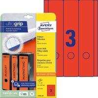 Avery Zweckform L4752-20 iratrendező címke