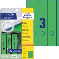 Avery Zweckform L4754-20 iratrendező címke