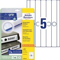 Avery Zweckform L4756-25 függőmappa címke