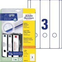 Avery Zweckform L4759-10 iratrendező címke