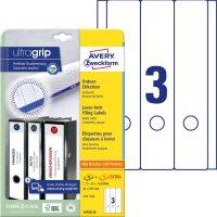 Avery Zweckform L4759-25 iratrendező címke