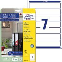 Avery Zweckform L4760-10 iratrendező címke