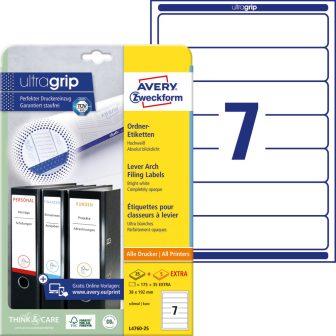 Avery Zweckform L4760-25 iratrendező címke