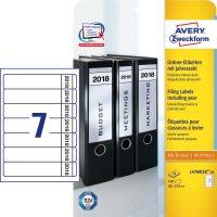 Avery Zweckform L4760J18-20 iratrendező címke