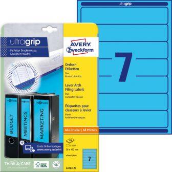 Avery Zweckform L4763-20 iratrendező címke