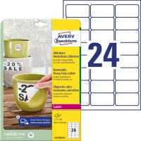 Avery Zweckform L4773REV-8 öntapadós etikett címke