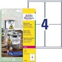 Avery Zweckform L4774-8 öntapadós etikett címke