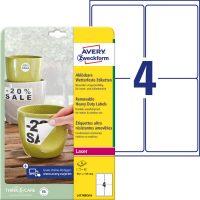 Avery Zweckform L4774REV-8 öntapadós etikett címke