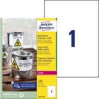 Avery Zweckform L4775-100 öntapadós etikett címke
