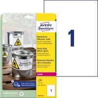 Avery Zweckform L4775-20 öntapadós etikett címke
