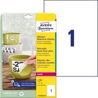 Avery Zweckform L4775REV-20 öntapadós etikett címke