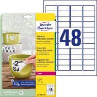 Avery Zweckform L4778REV-20 öntapadós etikett címke