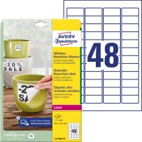 Avery Zweckform L4778REV-8 öntapadós etikett címke