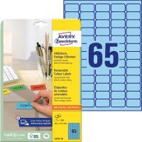 Avery Zweckform L4791-20 öntapadó etikett címke