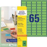 Avery Zweckform L4792-20 öntapadó etikett címke