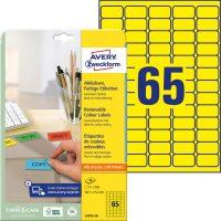 Avery Zweckform L4793-20 öntapadós etikett címke