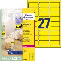 Avery Zweckform L6004-25 öntapadó etikett címke