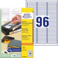 Avery Zweckform L6022REV-25 öntapadó etikett címke