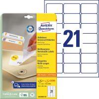 Avery Zweckform L6023REV-25 öntapadó etikett címke