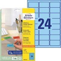 Avery Zweckform L6032-20 öntapadó etikett címke