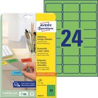 Avery Zweckform L6033-20 öntapadó etikett címke