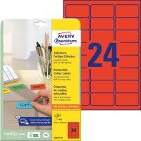 Avery Zweckform L6034-20 öntapadó etikett címke