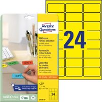 Avery Zweckform L6035-20 öntapadó etikett címke