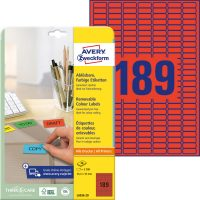 Avery Zweckform L6036-20 öntapadó etikett címke