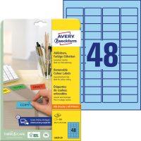 Avery Zweckform L6039-20 öntapadó etikett címke