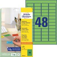 Avery Zweckform L6040-20 öntapadós etikett címke