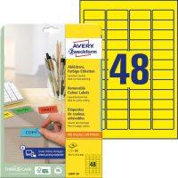 Avery Zweckform L6041-20 öntapadó etikett címke