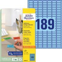 Avery Zweckform L6048-20 öntapadó etikett címke