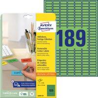 Avery Zweckform L6049-20 öntapadós etikett címke