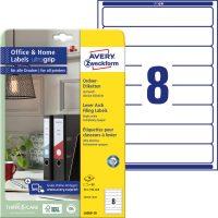 Avery Zweckform L6060-10 iratrendező címke