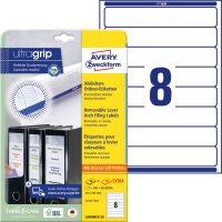 Avery Zweckform L6060REV-20 iratrendező címke