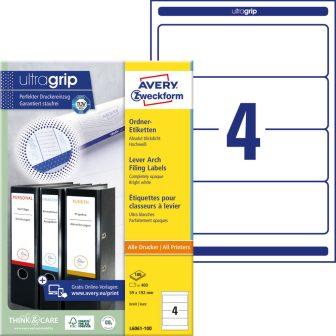 Avery Zweckform L6061-100 iratrendező címke