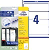 Avery Zweckform L6061-25 iratrendező címke