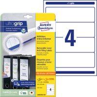Avery Zweckform L6061REV-20 iratrendező címke