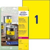 Avery Zweckform L6111-8 öntapadós etikett címke