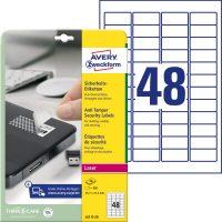 Avery Zweckform L6113-20 öntapadó etikett címke