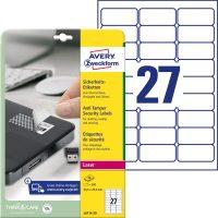 Avery Zweckform L6114-20 öntapadó etikett címke