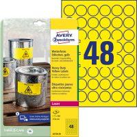 Avery Zweckform L6128-20 öntapadós etikett címke