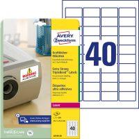 Avery Zweckform L6140-20 öntapadó etikett címke